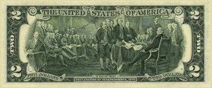 US $2 bill